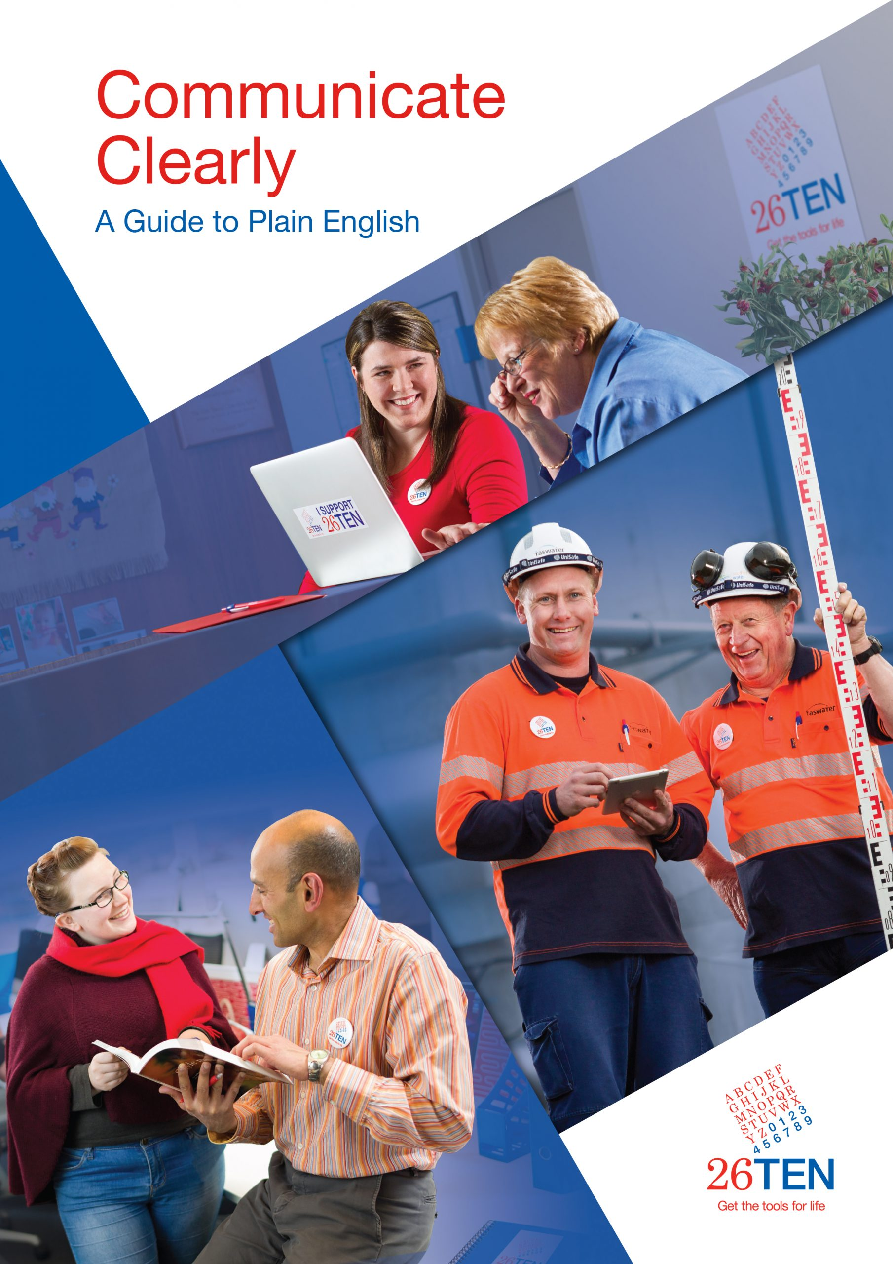 Communicate clearly - a guide to plain english workbook cover
