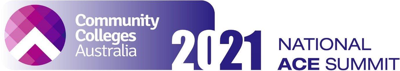 Community Colleges Australia ACE Summit Logo